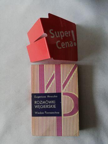 """książka """"rozmówki węgierskie"""" Eugeniusz Mroczko"""