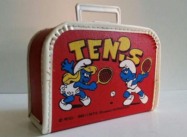 Peyo Smerf stara walizka 89'