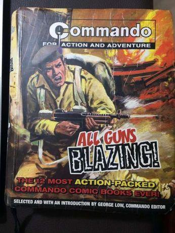 """Commando Banda Desenhada 2ª Guerra Mundial (All Guns Blazing"""""""