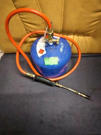 Butla gaz 3kg z palnikiem . Lombard