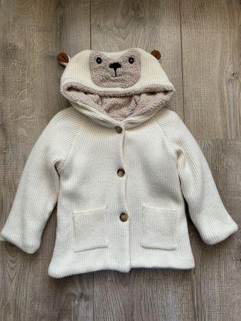 Теплая кофта Zara