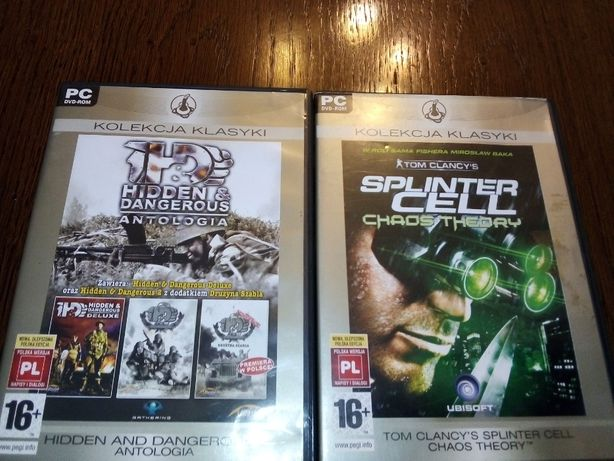 Hidden i Dangerous antologia i Tom Clancy's Splinter Cell Chaos Theory