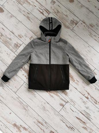 Zimowa kurtka softshell wiatroszczelna H&M rozm. 146 od Alexa