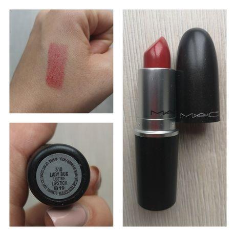 Nowa szminka i błyszczyk MAC oraz szminka Irena Eris + gratisy