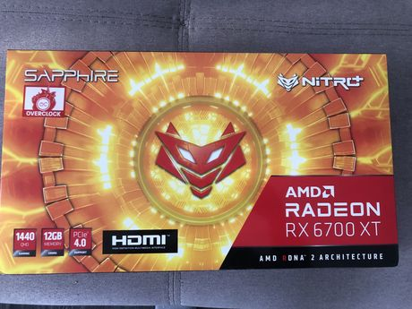 saphire AMD RADEON 6700XT