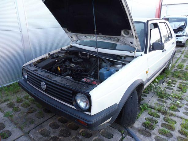 VW Golf II 1.6 TD 1V Silnik Skrzynia Maska Błotnik Drzwi Klapa Zderzak
