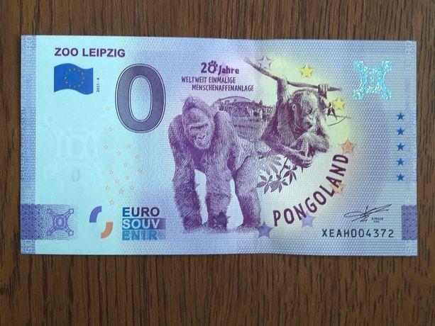 Банкнота 0 евро.