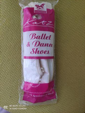 Балетки Katz для балета танцев танцевальная обувь чешки 31- 32 р