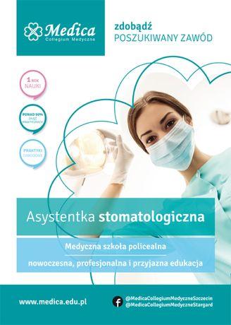 Asystentka stomatologiczna- trwa nabór letni!