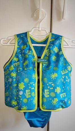 Детский жилет для плавания Speedo Sea Squad Swim Vest со съемной часть