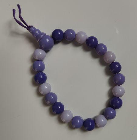BRANSOLETKA w odcieniach fioletu