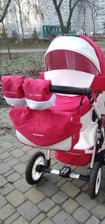Каляска Riko Brano Ecco 20 Sport Red
