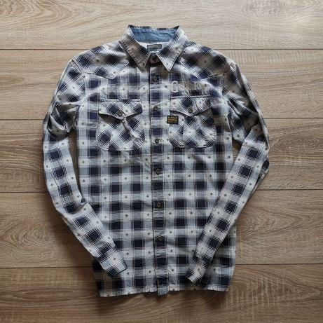 Рубашка в монограму G-Star Raw, размер М