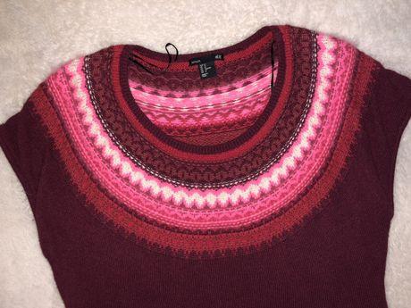 Вязаное телое платье H&M