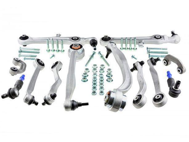 Kit Braços Suspensão Audi A4 B6 (00-05) HD (Reforçados) (NOVO)