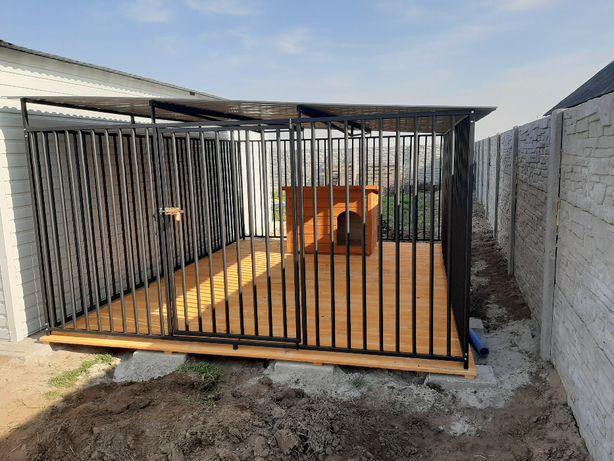Kojec dla psa 2x2m lub inny. Pomieszczenie + kojce. Wiaty i Inne