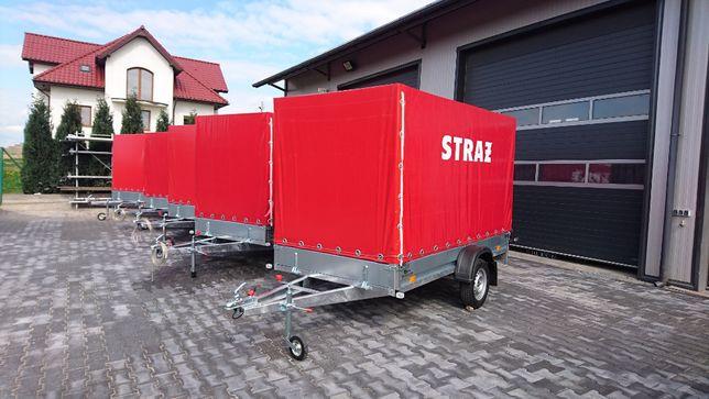 Przyczepa Przyczepka Samochodowa 300x156 750 kg Nowy Sącz TRANSPORT