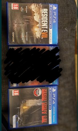 Rush of Blood here they lie resident evil 7 vr ps4 PlayStation 4