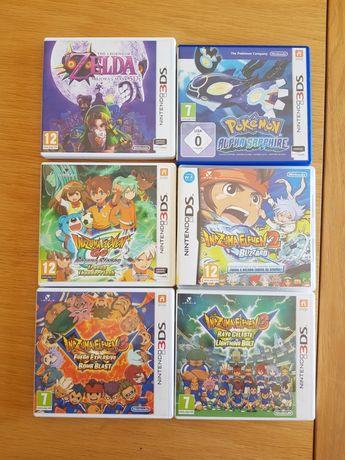 Jogos 3ds pokemon inazuma zelda