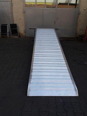 Trap podjazd najazd 4m szeroki 1m aluminiowy