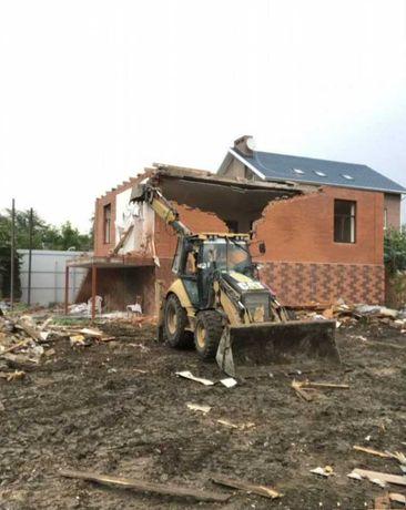 Демонтаж зданий / Снос зданий