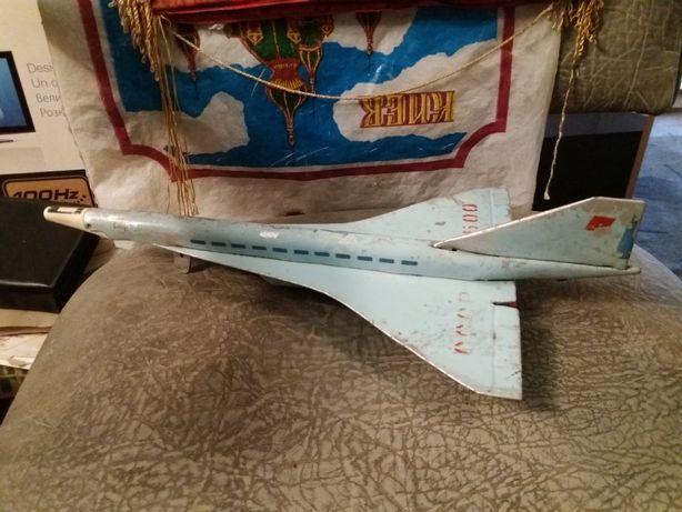 Игрушка детская самолёт ссср