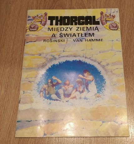 Thorgal. Tom 13 Między Ziemią a światłem Rosiński