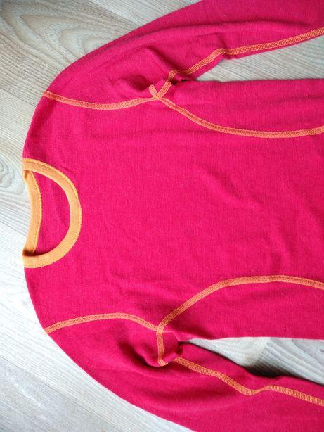 Janus merino wool bluzka 8 lat 128 cm bdb