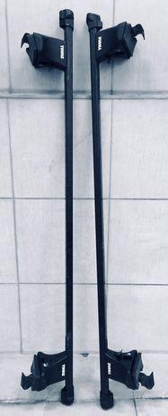 Belki dachowe, bagażnik Thule - seat ibiza