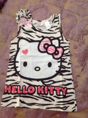 t-shirt Hello Kitty 2-4 A, Blusao zippy