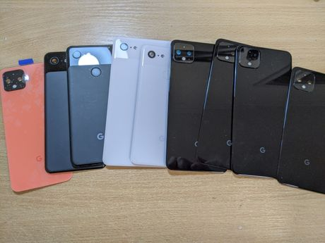 Оригинал задняя крышка Google Pixel 4XL, 4, 3, 3Xl