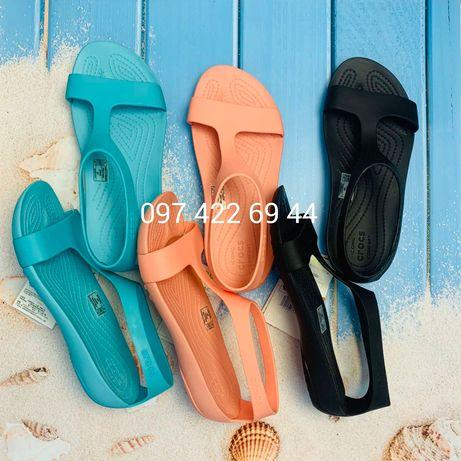 New Крокс Crocs Serena Sandal женские сандалии