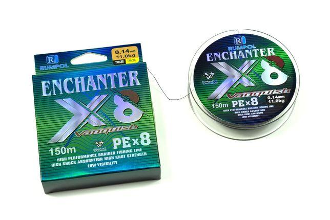 Plecionka ENCHANTER PEx8 150/300m 0,10; 0,12; 0,14; 0,16; 0,18