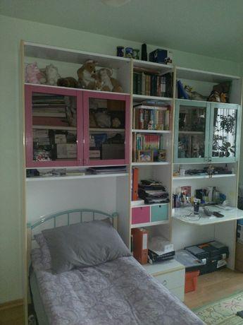 Набор итальянской мебели для комнаты подростка из 8 предметов