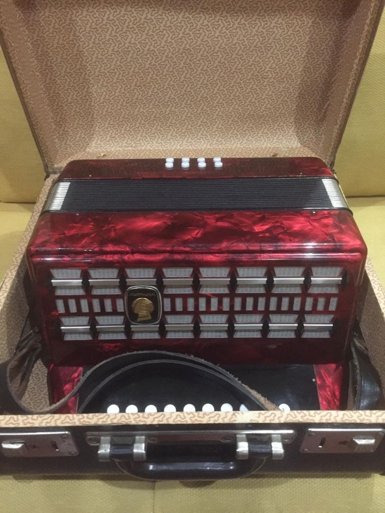Concertina Weltmeister (C-F)