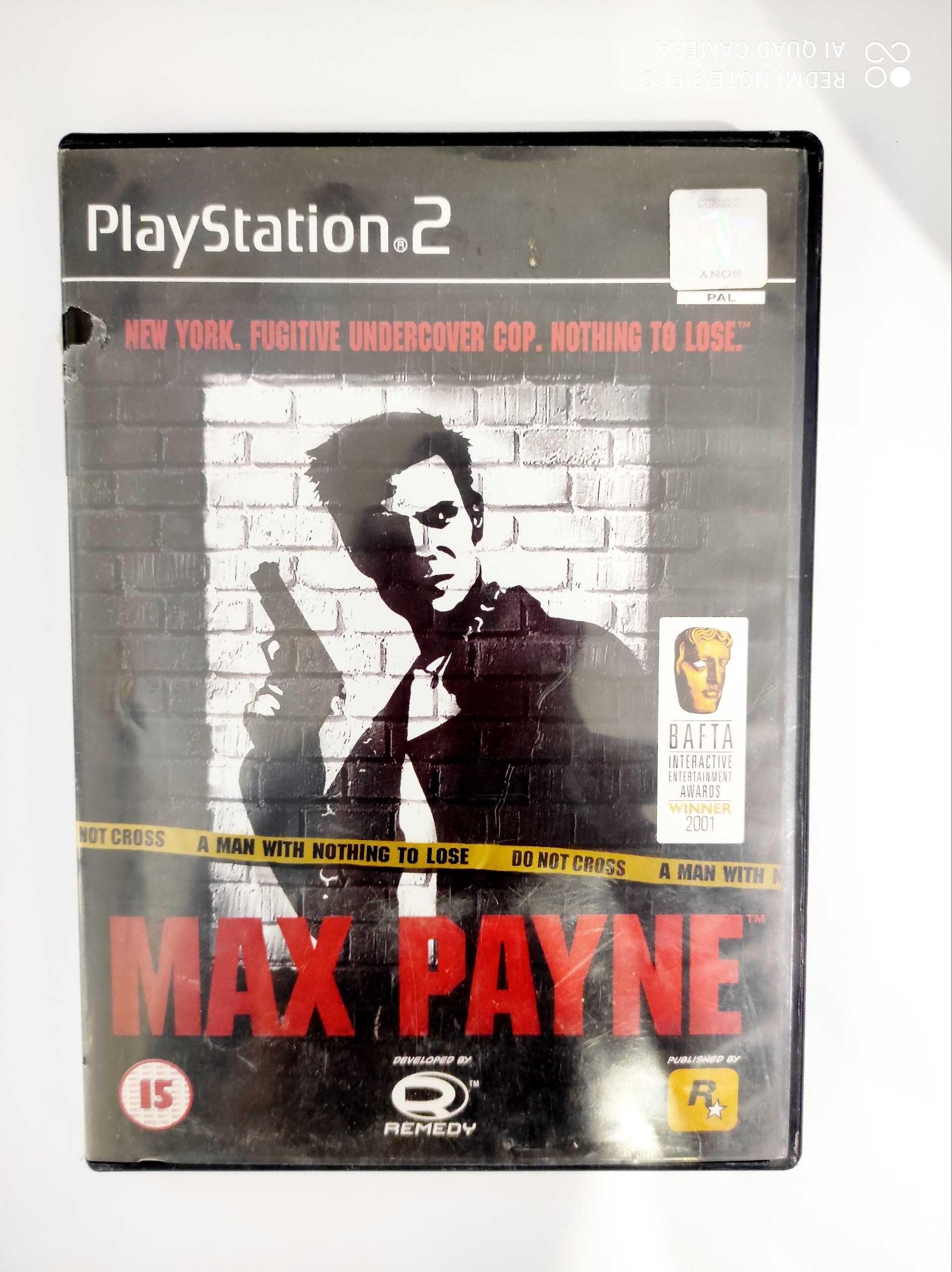 Max payne ps2    .