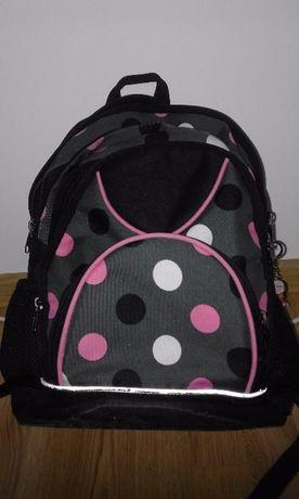 super plecak dziewczęcy szkolny w komplecie z torbą na ramię