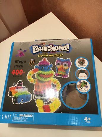 Продам детский конструктор-липучка Банчемс/Bunchems 400+элементов