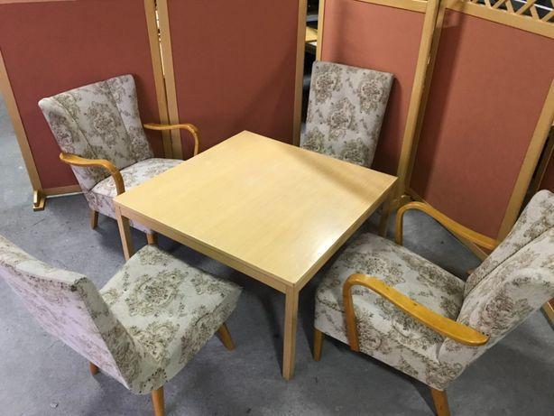 Fotel klasyczny stylowy zestaw meble stylowe fotele