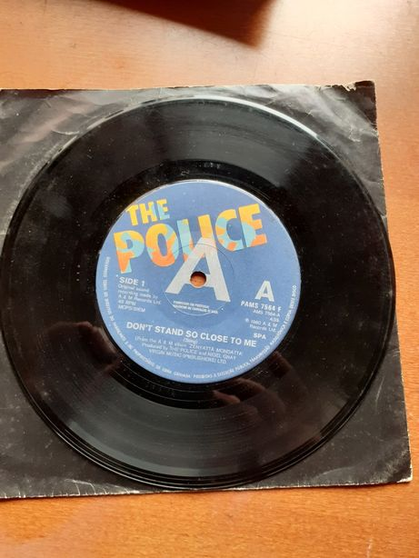 THE POLICE -Don't Stand So Close To Me - singles vinil