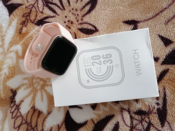 Smartwatch rosa gold