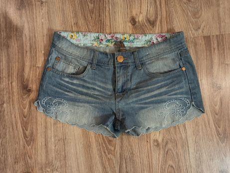 Spodenki jeansowe 36