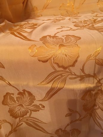 Ткань интерьерная шелковая на шторы, для драпировки