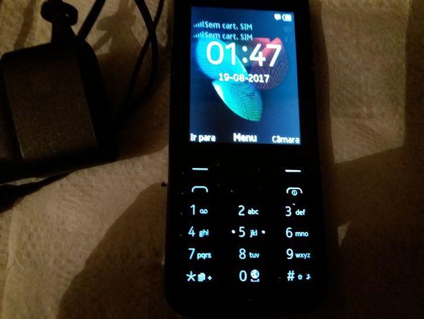 Nokia RM-1136 Dual-SIM Como Novo, Livre, Bluetooth, Internet etc