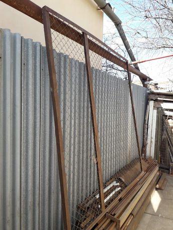Секция забор сетка рабица поваренная уголком