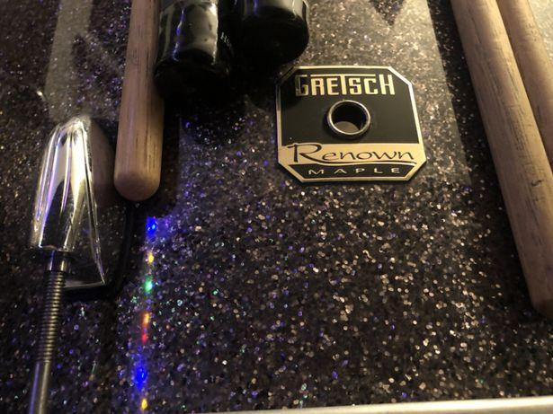 Bateria acústica Gretsch Renown Maple USA shells