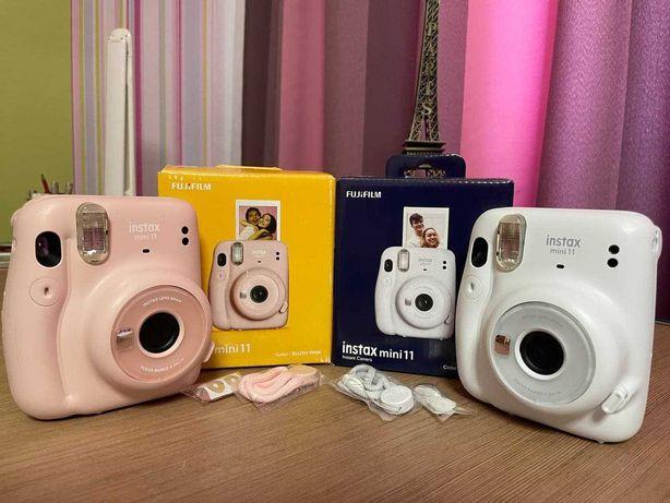 фотоаппараты Fujifilm Instax Mini 11 цвета BLUSH-PINK и ICE-WHITE