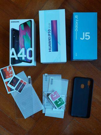 Caixas de telemóveis / Película Vidro Temperado / Capa Samsung A40