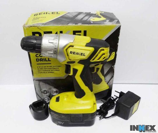 Wkrętarka REIKEL 18V  Cordless Drill