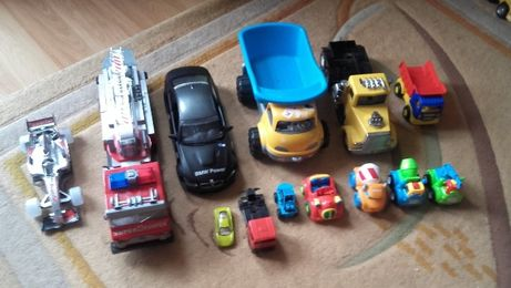 Auta dla chłopca